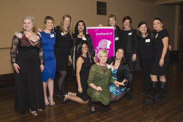 The team at Vic ICT for Women