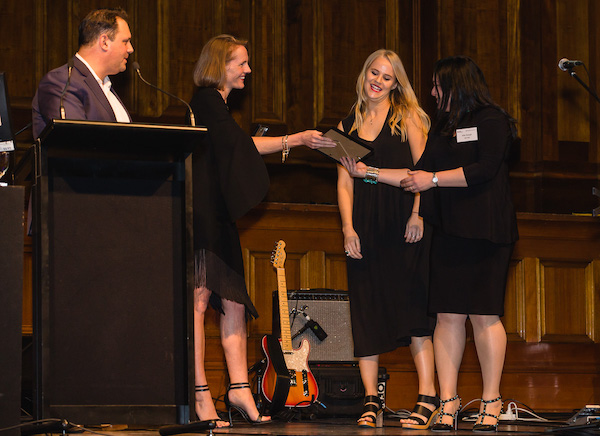 Code Like a Girl, recipients of the Victorian Innovation Minister's Diversity Award