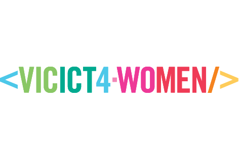 VIC ICT 4 Women logo